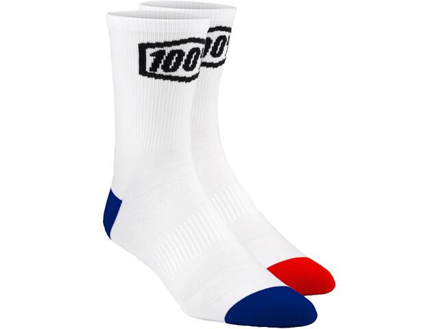 100% Terrain Socks white
